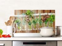 Kuchenruckwand Aus Glas Ein Idealer Spritzschutz