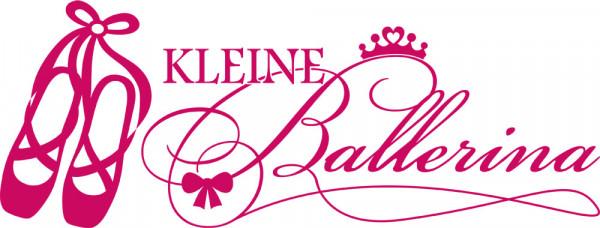 Wandtattoo Spruch Kleine Ballerina