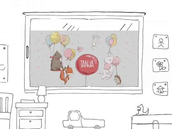 Sichtschutzfolie für Kinderzimmer
