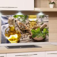 Spritzschutz / Küchenrückwand richtig anbringen bzw. kleben