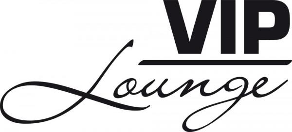Wandtattoo Schriftzug VIP Lounge für Dein Wohnzimmer