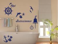 Wandtattoo Anker für Bad & Badezimmer   Maritime Wandtattoos