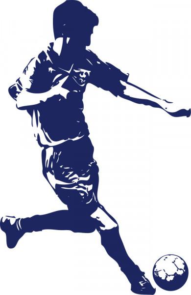 Wandtattoo Fußball Ball Deko für Jugendzimmer Jungs Sport Kinderzimmer