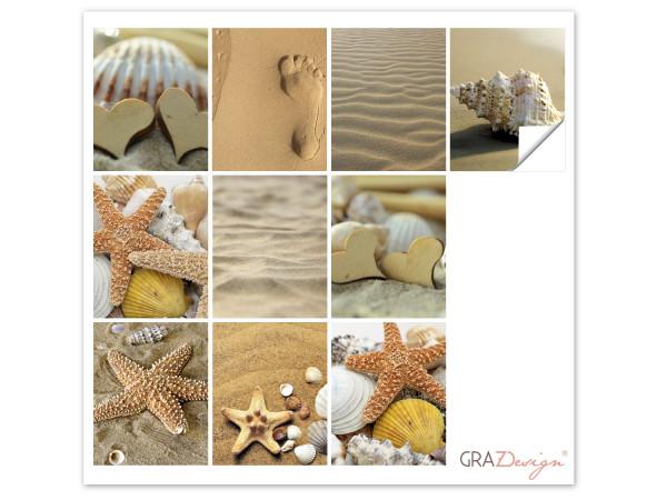 Fliesenaufkleber Bad Sand und Strand