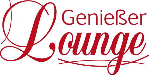 Wandtattoo für Küche Spruch Genießer Lounge