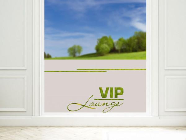 Sichtschutzfolie VIP Lounge