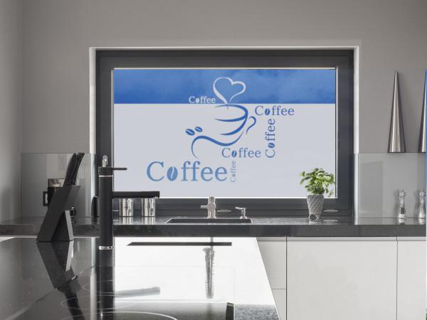 Sichtschutzfolie Coffee und Tasse