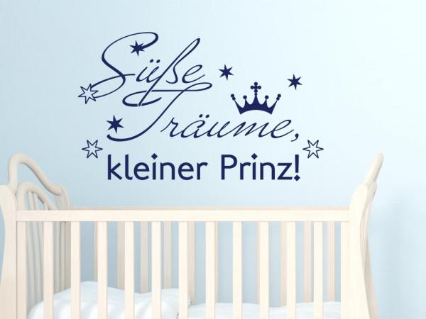 Wandtattoo Spruch Süße Träume Prinz