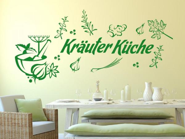 Wandtattoo Küche Set Kräuter Küche Knoblauch Ingwer