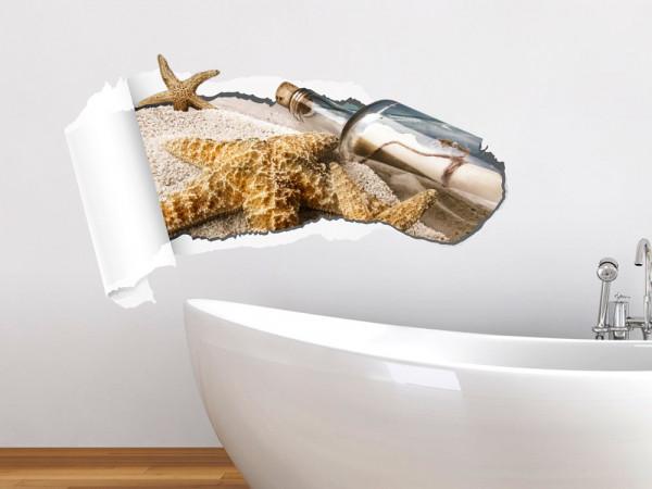 Wandsticker Wandtattoo Wandaufkleber Wohnzimmer Badezimmer Tapete Seestern