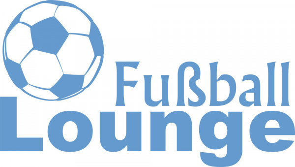 Wandtattoo Sport Fußball Lounge mit Ball