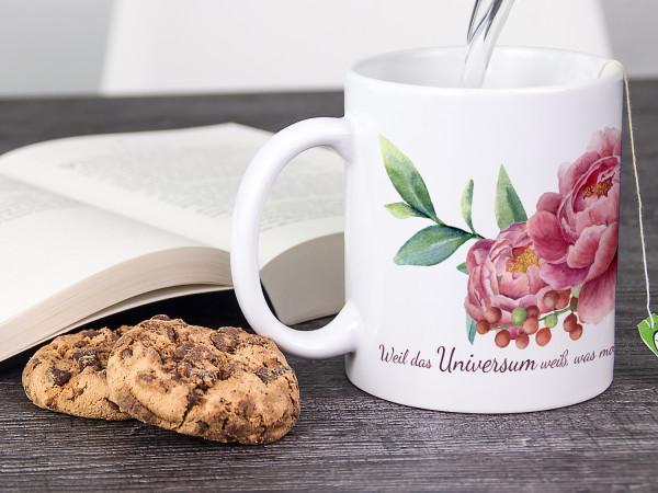 Tasse zur Trauer Bewältigung, als Geschenk für Familie, Freunde und Liebende