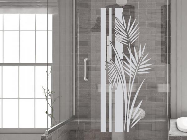 Fenstertatto für Bad oder Dusche Wellness