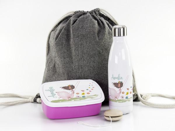 Geschenke-Box für Mädchen zur Einschulung