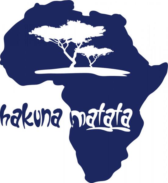 Wandtattoo hakuna matata Kontinent Afrika