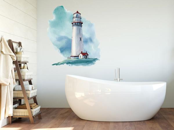 Wandtattoo Leuchtturm Nordsee Küste