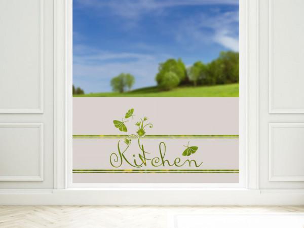 Sichtschutzfolie Küche Kitchen mit Schmetterling