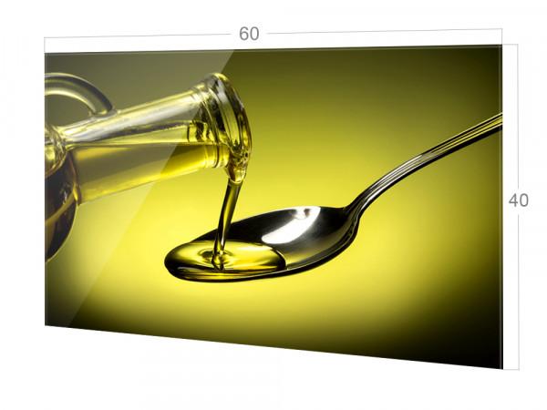 Spritzschutz aus Glas für die Küche mit Größe 60x40cm
