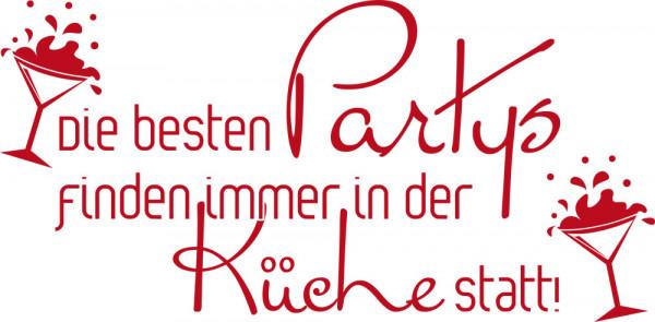 Wandtattoo für Küche Die besten Partys