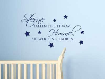 Dekoration Wandtattoo Kinderzimmer Sterne Fallen Nicht Vom Himmel Mobel Wohnen Anakui Com