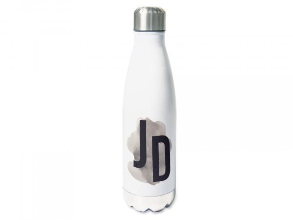 Trinkflasche personalisiert mit Namen Initialen