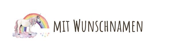 Einhorn_wunschname_regenbogen