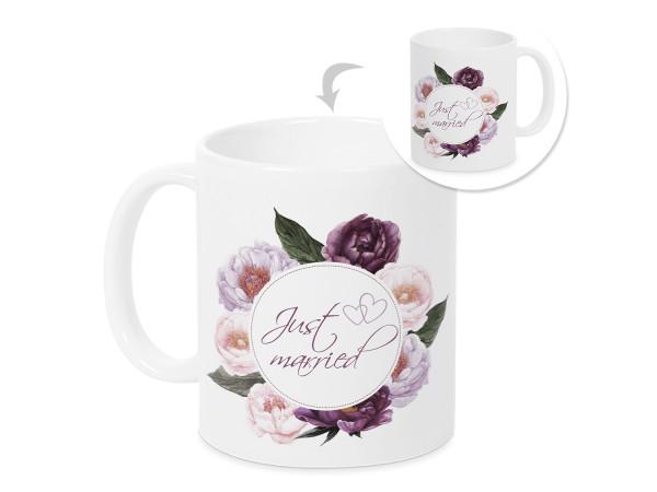 Tasse zur Hochzeit Just Married