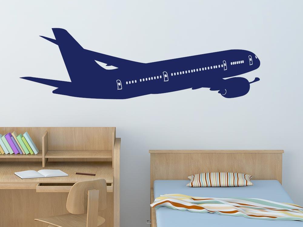 wandtattoo kinderzimmer flugzeug f r jungs fahrzeuge himmel junge kinderzimmer wandtattoo. Black Bedroom Furniture Sets. Home Design Ideas