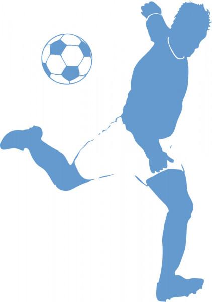 Wandtattoo Sport Fussball für Kinderzimmer