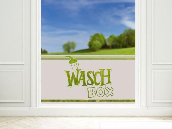 Sichtschutzfolie Duschtür für Badezimmer Waschbox