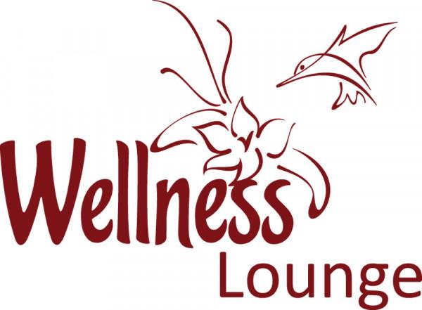 Wandtattoo Badezimmer Wellness Lounge mit Blume und Kolibri