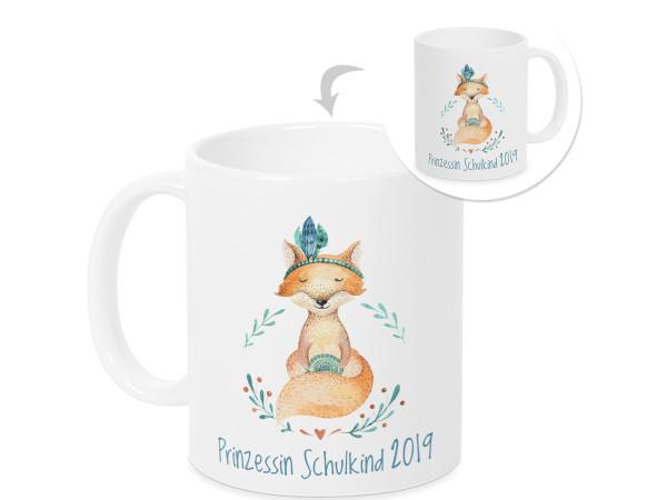 Tasse - Geschenk Einschulung Mädchen Schulkind Prinzessin