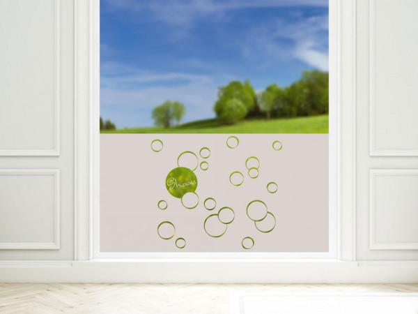 Sichtschutzfolie Shower Duschtür für Duschkabine