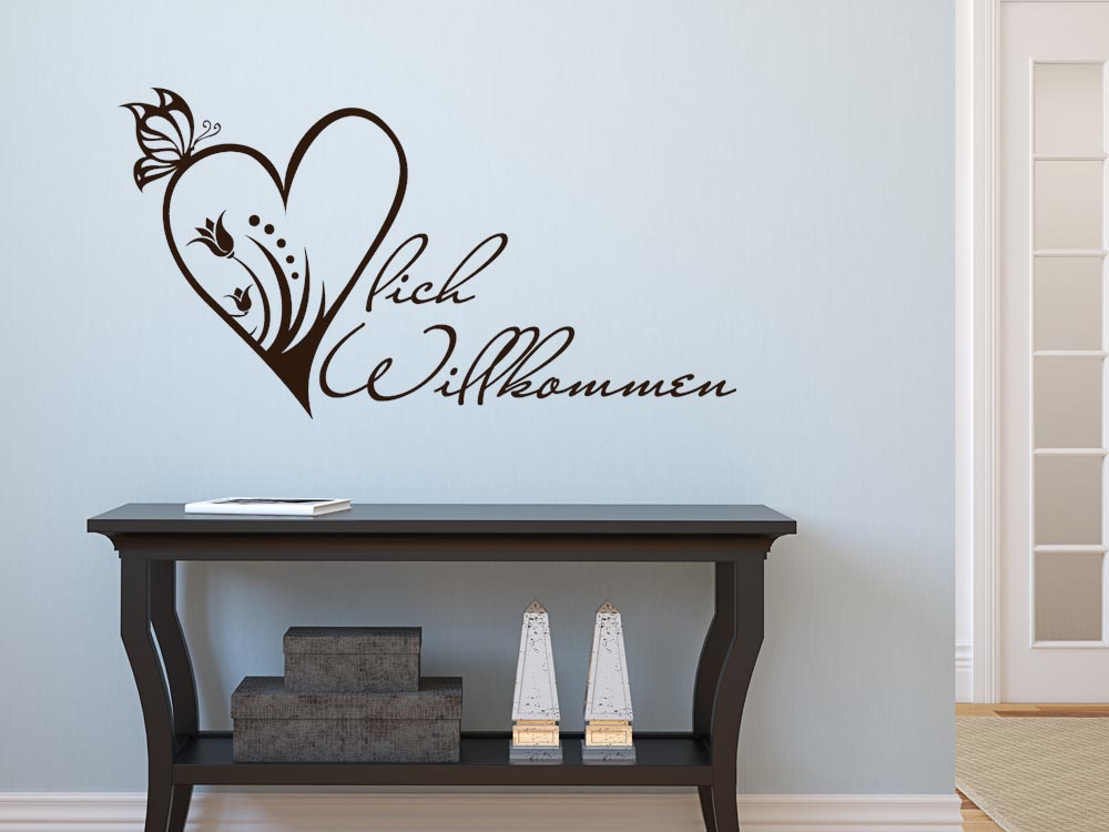 einzigartiges wandtattoo f r den flur graz design. Black Bedroom Furniture Sets. Home Design Ideas