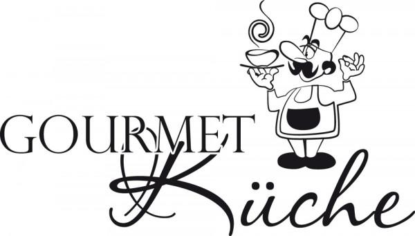 Wandtattoo Küche Gourmet Küche mit Koch für Ihre Küche