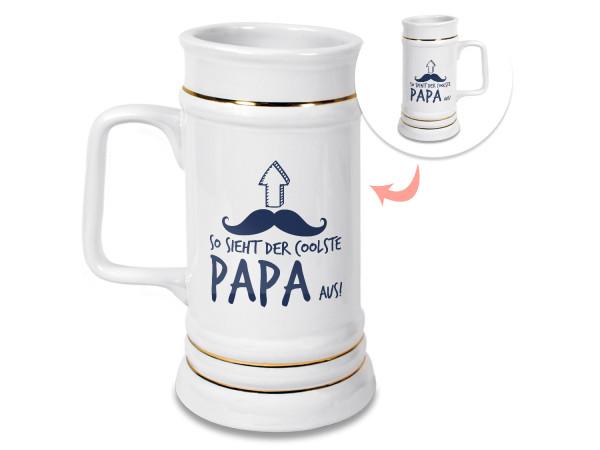 Bierkrug - So sieht der coolste Papa aus
