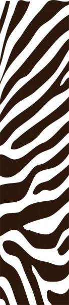 Wandtattoo Wandbanner Zebra Muster Tierhaut als Banner