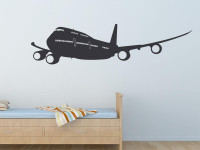 Wandtattoo Flugzeug Im Kinderzimmer Fur Kleine Piloten Unter Uns