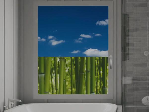Sichtschutz Bambus Bambusstamm
