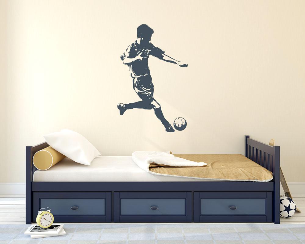 Wandtattoo Fussball Ball Deko Fur Jugendzimmer Jungs Sport Kinderzimmer