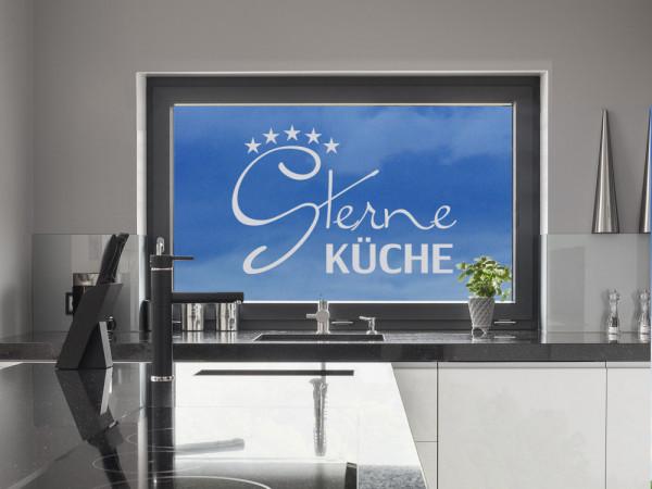 Glastattoo Küche Spruch Sterneküche