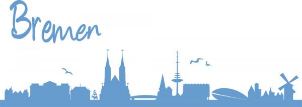 Wandtattoo Bremen Skyline Stadt neues Design