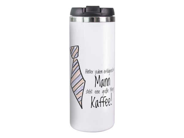 Thermobecher Kaffeebecher Spruch lustig