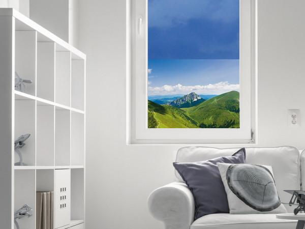 Sichtschutzfolie Berge Landschaft