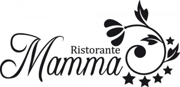 Wandtattoo Schriftzug 5-Sterne Ristorante Mamma für Ihre Küche