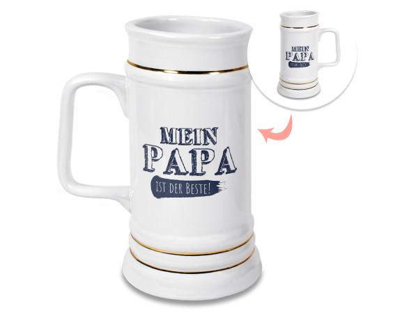 Bierkrug für Papa als Geschenk