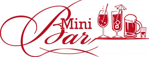 Wandtattoo für Küche Sprüche Mini Bar