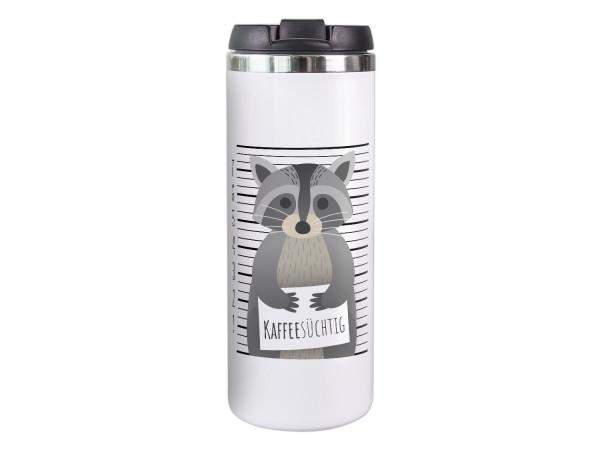 Thermobecher für Papa Mann, Kaffeesüchtig