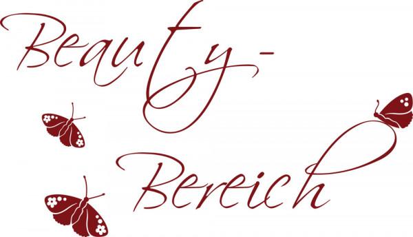 Wandtattoo Badezimmer Schriftzug Beauty-Bereich