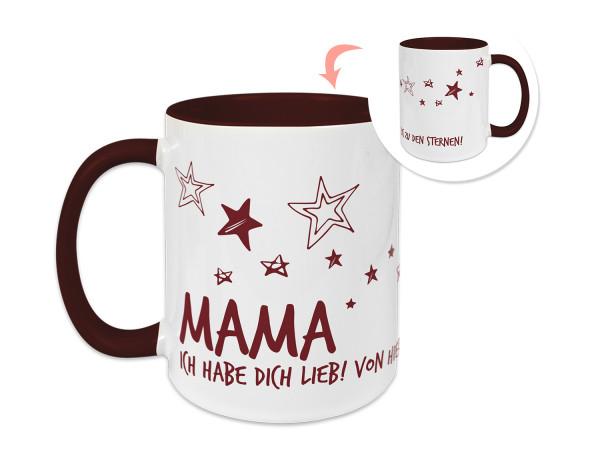 Tasse Mama - ich habe dich lieb